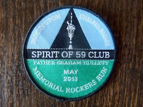 Spirit of 59 Club クロスバッジ 2013年