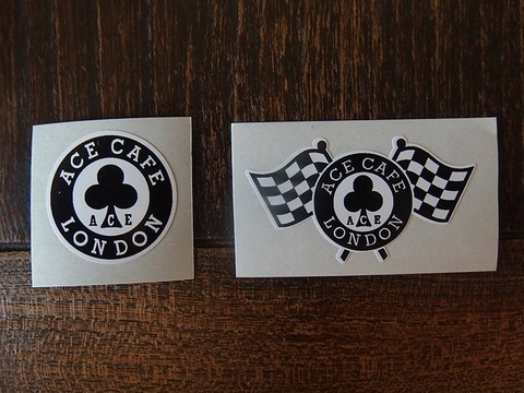 Ace Cafe mini sticker