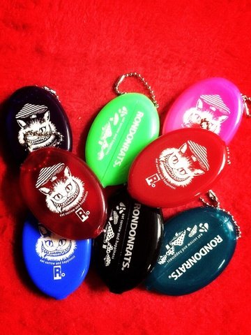 """eat sorrow and happiness!""コインケース (8Color)"