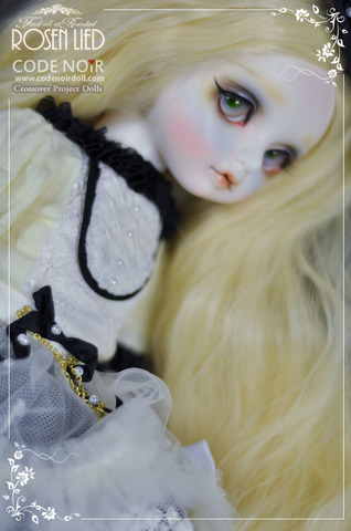 【送料無料】CodeNoir X RosenLied Romantic Black BonBon