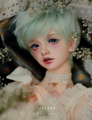 【特別受注】Seolrok 偰綠 Holy ver ヘッド(メイク追加可) Dollvie2018