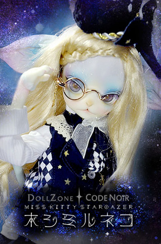 "完売【受注】Code Noir x Dollzone Miss Kitty - Stargazer""ホシミルネコ"""