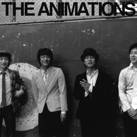 アニメーションズ / 『THE ANIMATIONS』 (ROSE 18X/ANALOG ALBUM)