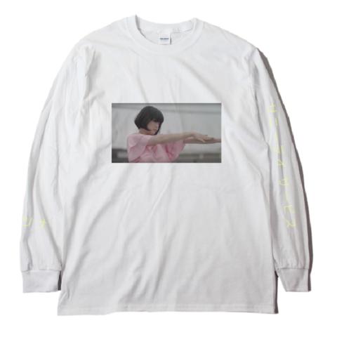 サニーデイ・サービス /「セツナ」ロングスリーブTシャツ(Long SleeveT-shirt/white)2回目