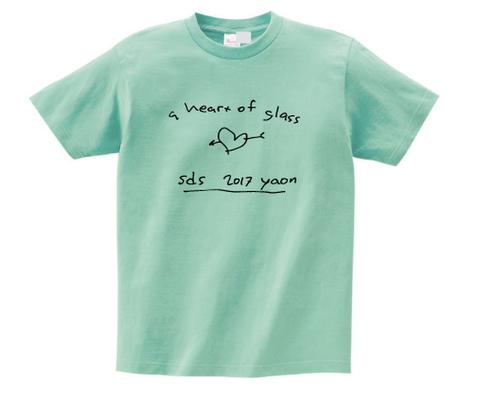 サニーデイ・サービス / sds yaon 2017 Tシャツ(T-shirt/ice green)