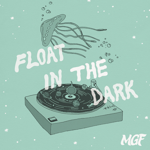 MGF / 『Float in the Dark』 (ROSE 201/CD ALBUM)