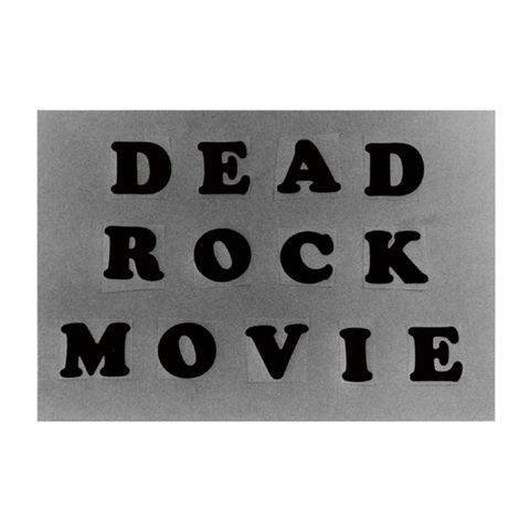 tomohiro with music tape recorders / 『DEAD ROCK MOVIE』 (ROSE 1/CD ALBUM)