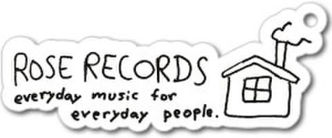 ROSE RECORDSキーホルダー (PVCキーホルダー)