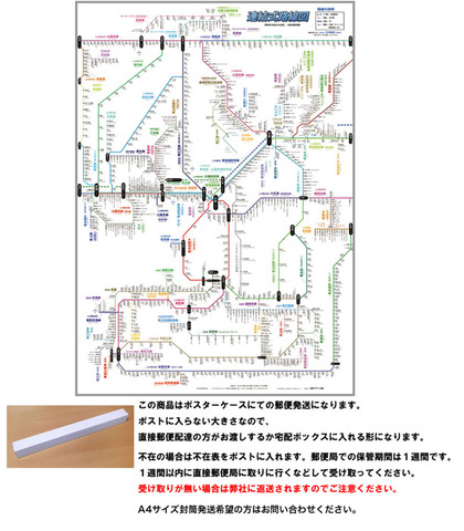 「連結式路線図 (関西) 5」 【ふりがな付き路線図】