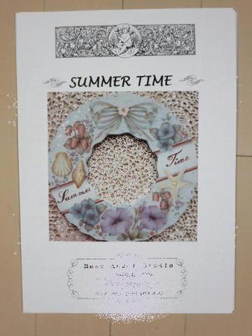 トールペイントのパケット【Summer TIme】
