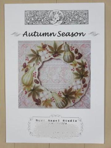 トールペイントパケット 【Autumn Season】