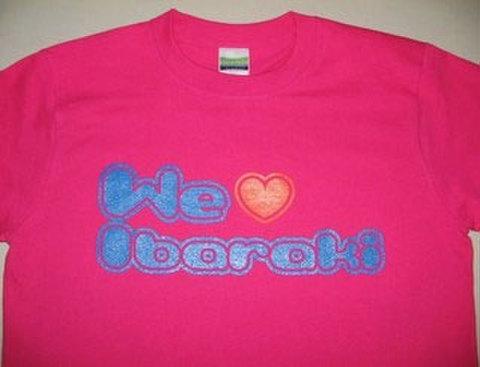 We LOVE 茨城Tシャツ