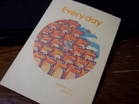 """アートブック """"Every day"""" vol.4"""
