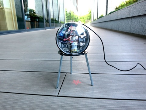 Projection Ball IoT