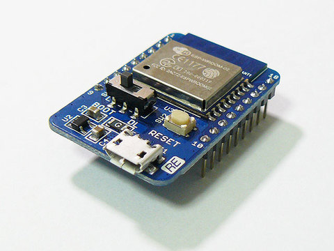 ESP-WROOM-02 USB付きBreakout基板 REESPUSB