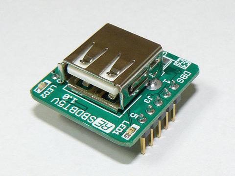 PIC24FJ64GB004 5V入出力対応マイコン基板 SBDBT5V