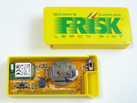 FRISKケースに入るBL600基板 REBL600FR