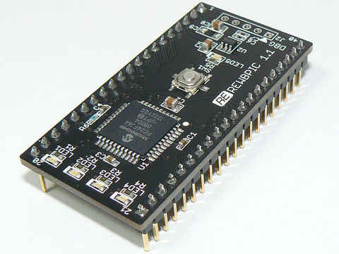 PIC24FJ64GB004 mbed風マイコン基板 REWBPIC