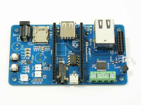 Jksoft Blue mbed Board