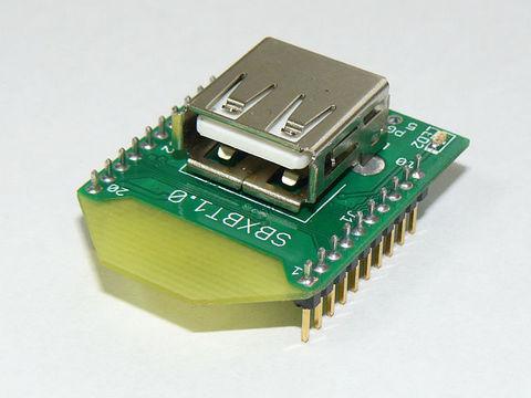 PIC24FJ64GB004 XBeeタイプマイコン基板 SBXBT