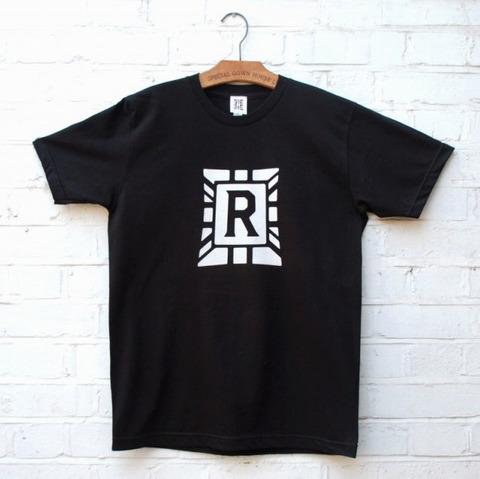 ラストレス R ロゴ Tシャツ 黒XLのみ