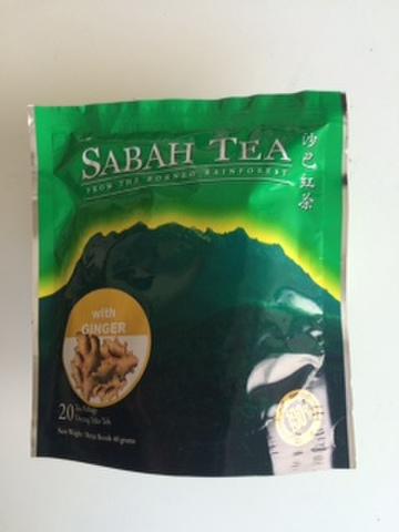 SABAH TEA 20POTBAGS (Ginger)