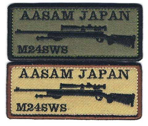 AASAM JAPAN M24パッチ