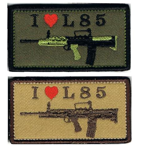 I LOVE L85パッチ(L85A1)