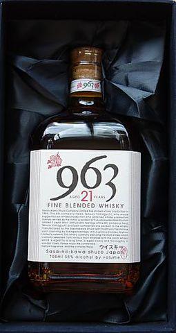 笹の川ウイスキー「963 21年」