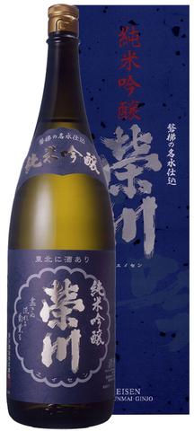 栄川 純米吟醸1.8L