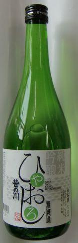笹の川 純米吟醸ひやおろし 720ml