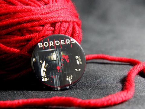 缶バッジ「BORDERS」チドリ