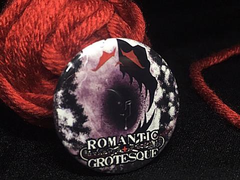 缶バッジ『野外劇ROMANTIC+GROTESQUE』