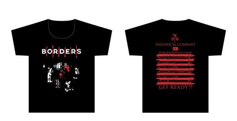 BORDERSツアーTシャツ