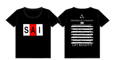 Tシャツ「SAI ロゴ×BORDERSツアーver