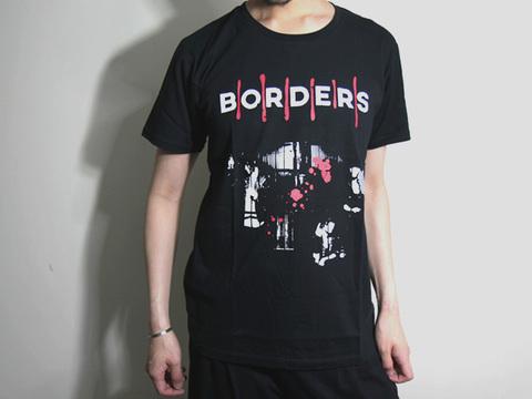 Tシャツ「BORDERS」