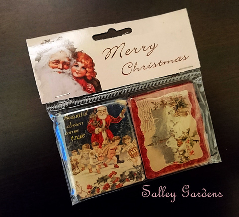 Christmas Magnets (Victorian)