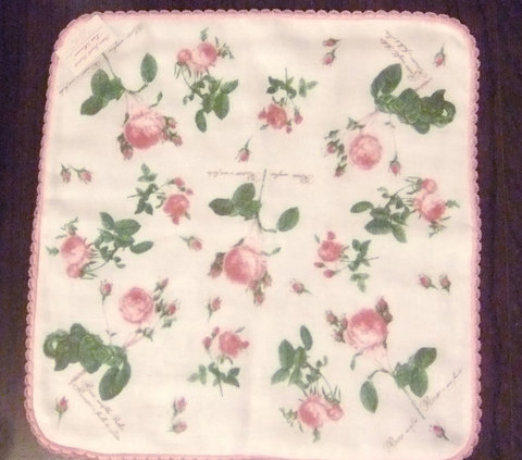 Towel Handkerchief (Pierre-Joseph Redoute)