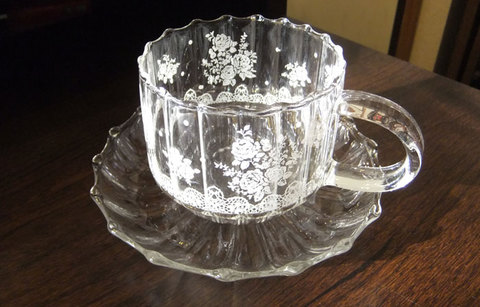 Glass Tea Cup
