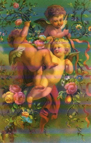 Valentine's Day Victorian Post Card