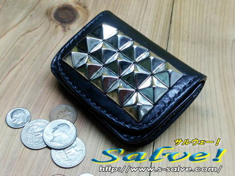 ピラミッドスタッズコインケース(小銭入れ)