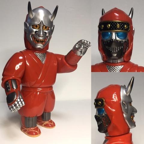 大江戸ROBOTS-HANZOMON赤×銀