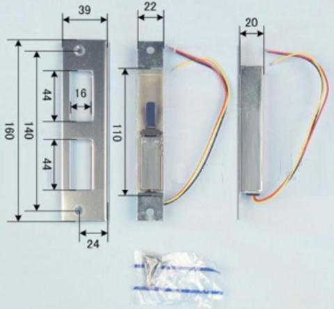 MIWA 美和ロック LHーC(MHーC) スイッチストライク 確認スイッチ 扉厚(mm)33~41 仕上 ST