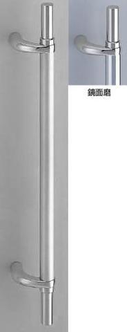 SHIROKUMA WB No.213 ステンレノマ取手 両面用 標準扉厚31mm~45mm L=600mm(全長) 鏡面磨