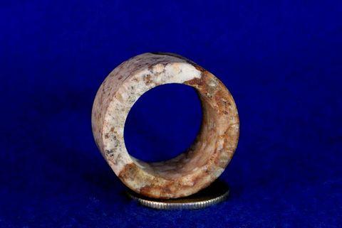 【薬石苑】姫川薬石 多用途 大きな健康指輪&リング22号D