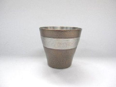 銅製 ロックカップ 素銅色(紙箱入)