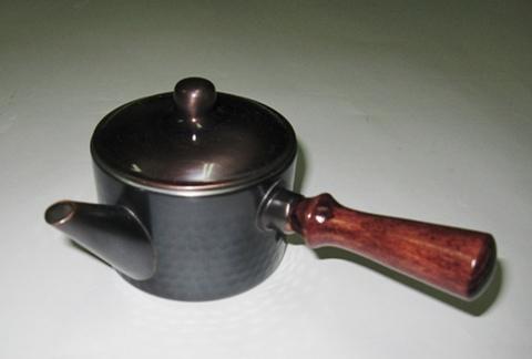 銅製 寸銅急須
