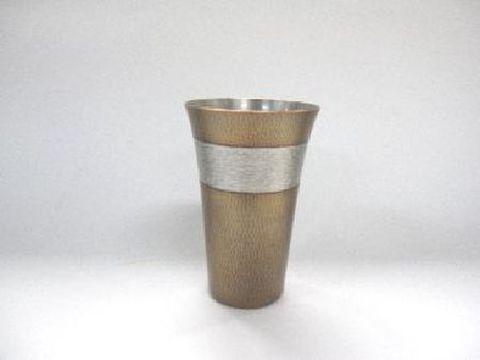 銅製 素銅色 ビアカップ(紙箱入)