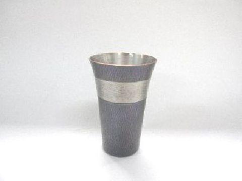 銅製 紫金色 ビアカップ(紙箱入)