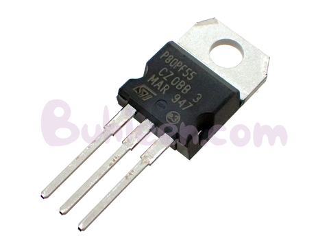STMicroelectronics|FET|STP80PF55